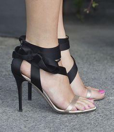 Crown Princess Mette-Marit wearing some fierce high heels.