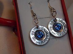Bullet Jewelry - Shotgun shell jewelry - western jewelry - Swarovski Crystal jewelry - Gun Shell Jewelry #ammojewelry #bulletjewelry
