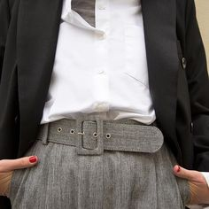 Tomboy is back to stock ! Tweed belted #trousers #frankiegirl #thefrankieshop