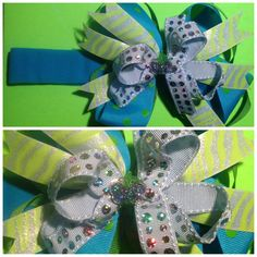Stacked Boutique Bow Headband by jajos on Etsy, $9.00