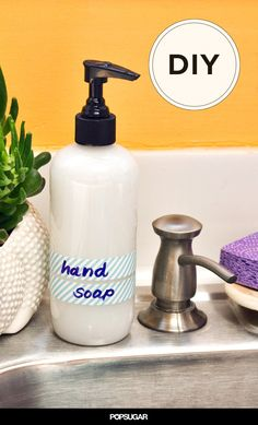 Stay Moisturized With This 3-Ingredient Coconut Oil Hand Soap.Makes around 32 ounces of liquid hand soap.