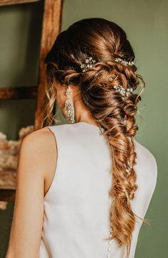 Perle Cheveux vigne couronne couronne mariée bal Boho Fée Mariage Communion