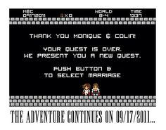 Geeky Save the Date of awesomeness! | by delightdisorder