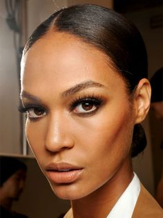 Gucci S/S '13 makeup: http://beautyeditor.ca/2012/10/01/milan-ss-13-guccis-brown-smoky-eyes-will-make-you-wanna-ditch-your-blacks-and-greys/