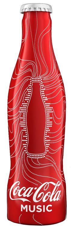 Coca-Cola #music #packaging PD