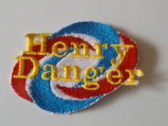 Iron On Patch  Embroidered  Henry Danger with by RiderPatches
