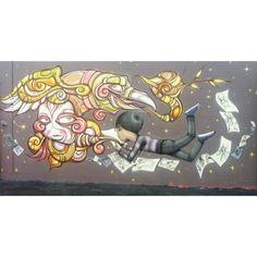 seth, phibs flying kid #urban art street art