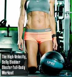 The High-Velocity, Belly Blubber Blaster Full-Body Workout