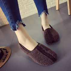 Soft Curly Plush Slip On Warm Loafers – Mollyca Discount Womens Clothing, Womens Clothing Stores, Clothes For Women, Fall Clothes, Cheap Fashion Jewelry, Loafers Online, Snow Boots Women, Shoe Size Chart, Loafers For Women