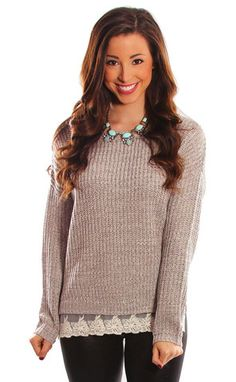 Get this adorable sweater for 15% off when you use the code RIFFRAFFREPCASSIE + free shipping!