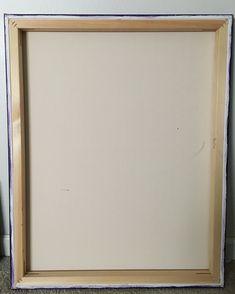 Heavy duty stretcher bars on hand splined gallery wrapped canvas. 🎨  #abstractartist #canvas #canvaspainting #art #artwork #artist #heavyduty #nola #neworleans #homedecor #interiordesign #wallart