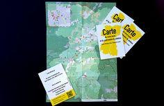"""La """"Carte du vivre local"""" met en valeur le beau territoire du plateau de St Remèze, Gras, Larnas et Bidon en Sud Ardèche. Elle présente les hébergeurs, restaurateurs, commerçants, producteurs... le patrimoine et les randonnées à travers un outil pratique - Romain Haonfaure, åvec un H"""