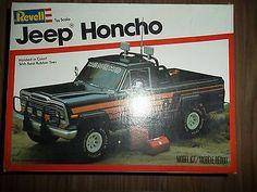 Revell  Jeep Honcho  box art
