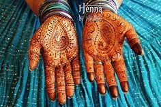Peacock henna designs inspired by Raj Mayur by Neeta Sharma