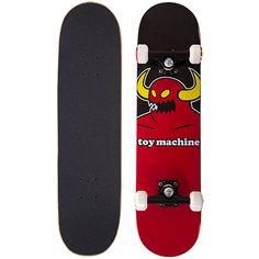 """Toy Machine Monster 8"""" Complete Skateboard - Basement Skate"""