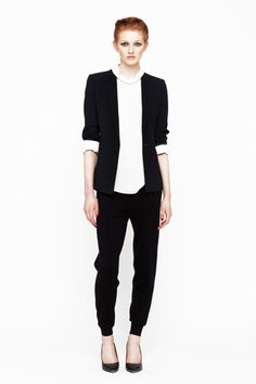 Good minimalist look from the Joie Fall 2013 Ready-to-Wear Collection
