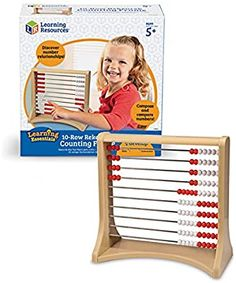 Amazon.com: Learning Resources 10-Row Rekenrek Counting Frame: Office Products All Toys, Kids Toys, Subtraction Strategies, Addition And Subtraction, Baby Boy Newborn, Learning Resources, Baby Shower Gifts, The Row, Homeschool