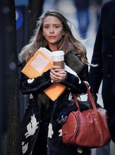 "olsendaily: "" Mary-Kate out in NYC, January 19 2016 (via olsensobsessive.com) """