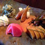 石葉 - 料理写真:お新香の盛り合わせ