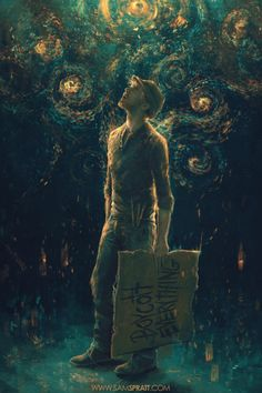 """""""Curious Night"""" by Sam Spratt    """"When we reach, when we explore, when we're curious – that's when we're at our best. We can learn about the world around us, the Universe around us. It doesn't divide us, or separate us, or create artificial and wholly made-up barriers between us . . . science and exploration bind us together. Science makes the world a better place, and it makes us better people. It's what we can do, and what we must do."""" -Discover Magazine"""