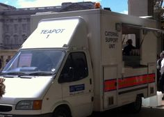 This police tea van. | The 41 Most British Things That Have Ever Happened