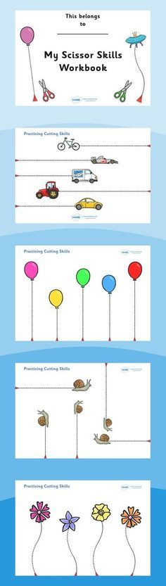 I love this Scissor Cutting Skills Workbook for my students with autism! Perfect fine motor work!