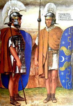 Praetorian Guard in the time of Domitian.