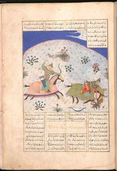 Firdausī: Šāhnāma - BSB Cod.pers. 8, Iran, 1497