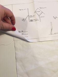 Nå begynner det å ligne på noe! – En bunad blir til Sewing Hacks, Sewing Tips, Om, Norway, Sew Pattern, Hardanger, Patterns