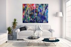 Buy Underwater colorfield - MASSIVE BOLD STATEMENT WORK, Acrylic painting by Nestor Toro on Artfinder. Discover thousands of other original paintings, prints, sculptures and photography from independent artists.