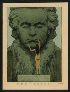 Hugo Höppener, genannt Fidus: Entwurf für einen Beethoven-Tempel (1903)