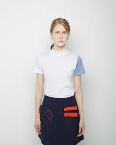 JACQUEMUS | Le T-Shirt Col Haut | Shop @ La Garçonne