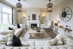 Living room of.......