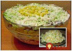 Výborný šalátik zo zeleru, je úplne jednoduchý a fit. Pomôže vám s trávením ťažkých vyprážaných jedál a ak si ho dáte namiesto večere tak kilá pôdu dole. Potrebujeme: 1 ks stredne veľkého zeleru 1 ks mrkvy 1 ks veľkého jablka zeleného 1 lyžička majonézy (skúste domácu diétnu majonézu bez oleja) 3 lyžičky bieleho jogurtu 2... Macaroni And Cheese, Cabbage, Food And Drink, Rice, Cooking Recipes, Vegetarian, Treats, Vegan, Baking