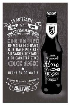Alma Negra - Página Web cerveza artesanal on Behance