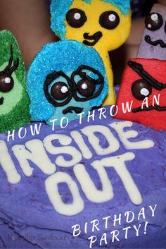 How to throw an Inside Out Birthday Party #InsideOut #NovemberBirthdays #scorpiobirthdays #disneyinsideout #sponsored
