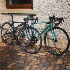 My Bianchi family. Nirone7  and Oltre xr1 2015.
