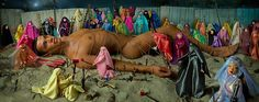 LaChapelle Studio - Series - Would-Be Martyr and 72 Virgins