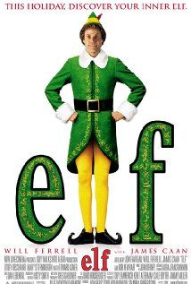 Elf (2003). I'll admit it. I just never got Will Ferrell until I saw elf. He's childish, but in the best way possible. When holiday stress starts to edge out the good stuff,  I pop this dvd into the player and get the joy of the season back again.
