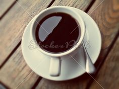 Hot Black Coffee | Photo | StockerPark