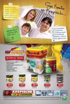 """Krepischi Lar & Construção: Campanha """"Sua família na Krepischi"""""""