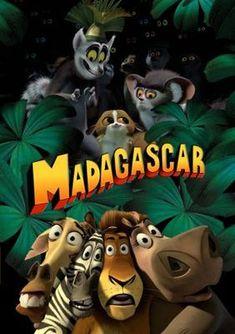 Madagascar poster, t-shirt, mouse pad Dreamworks Movies, Dreamworks Animation, Pixar Movies, Cartoon Movies, Animation Movies, Disney And More, Disney Love, Madagascar Movie, Animated Movie Posters