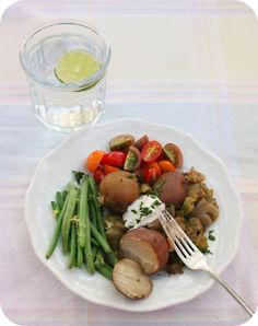Slow Cooker Cabbage and New Potatoes -