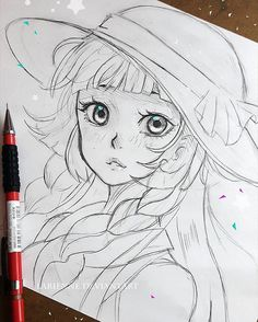 Rough sketch of Lillie #lillie #pokemon ♡♡ -- Larienne.deviantart.com