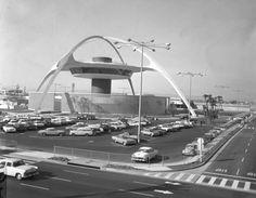 aeroport los-angeles années 1960