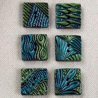 2 Good Claymates: Helen Breil Conga Line Texture