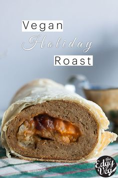 VEGAN Vegetarian Holiday Roast Recipe