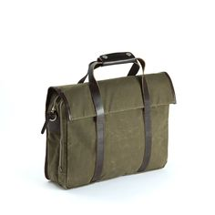 Walker Briefcase Dark Tan - $425