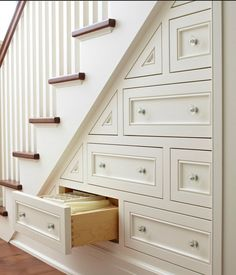 Make use of that space under your stairs!