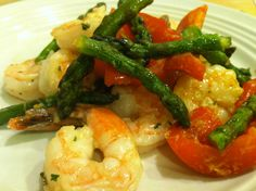 Lemon Garlic Shrimp and more Ideal Protein Phase recipes
